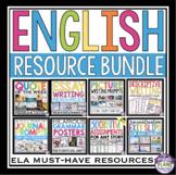 ENGLISH LANGUAGE ARTS RESOURCE BUNDLE