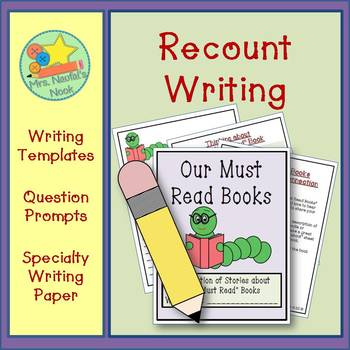 """Recount Writing - Our """"Must Read"""" Books"""