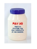 Must do-May do Workstation Labels