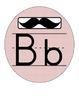 Mustache Alphabet