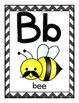 Mustache Alphabet Posters