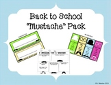 """Mustache"" Back to School Pack"