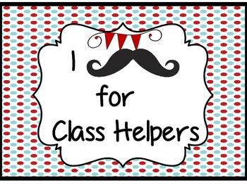 "Mustache ""Barbershop"" Class Jobs"