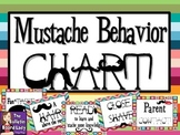 Mustache Behavior Chart: Your Behavior is a Big, Hairy Deal