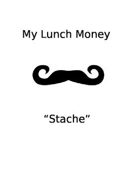 Mustache Binder/ Binder Covers Theme
