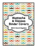 Mustache Binder Covers and Spines