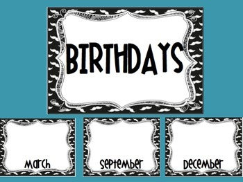 Mustache Birthday Posters