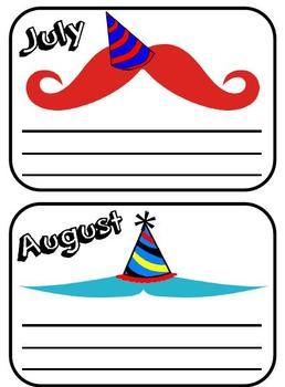 Mustache Birthdays