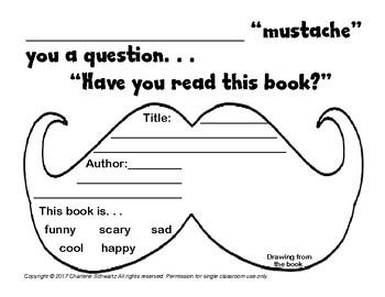 Mustache Book Report