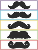 Printable Mustache Bookmarks (End of Year or Beginning of Year Gift)