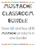 Mustache Classroom Bundle!