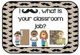 Mustache Classroom Jobs