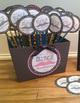 Mustache Fun Birthday Pencil Topper Kit