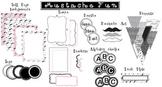 Mustache Fun Classroom Design Kit