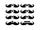 Mustache Lunch Count, You Can Customize!