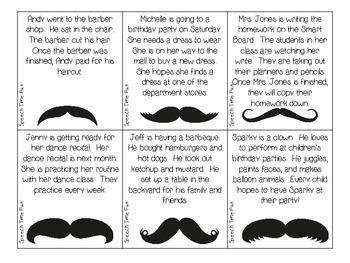 Mustache Main Idea!