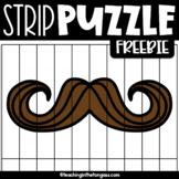 Mustache Mania Clipart Free