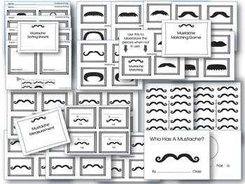 Mustache Matching and Patterns