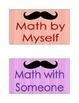 Mustache Math Daily Five