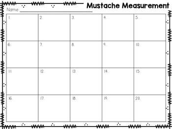 Mustache Measurement {using nonstandard units}