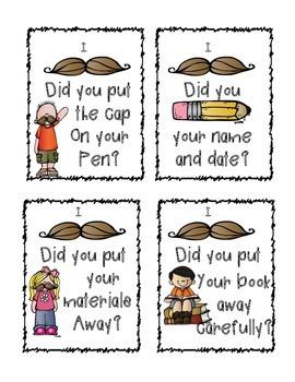 Mustache Mini Posters