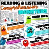 Reading & Language Comprehension {88 short, nonfiction, skill specific passages}
