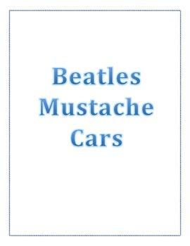 Beatles Mustache Cars
