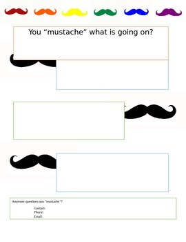 """Mustache Newsletter """"You mustache what is going on?"""""""