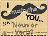 Mustache Noun or Verb Game