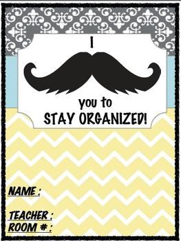 Mustache Organization  Binder