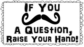 Mustache Posters