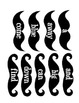 Fun Mustache Sight Word Props- All 220 Dolch Sight Words