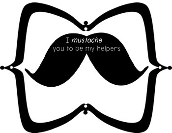 Mustache Theme Classroom Helpers