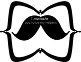 Mustache Theme Classroom Helpers