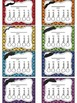 Mustache Themed Punch Card Sampler