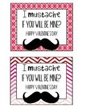 Mustache Valentine's Day Card