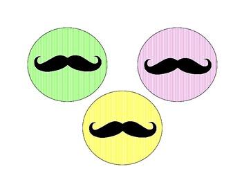 Mustache Work Display