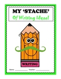 Mustache Writing Journal Cover
