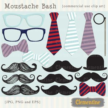 Mustache clip art images, moustache clipart