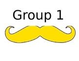Mustache groups