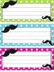 Mustache theme decor