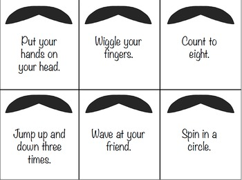 """Mustache"" you to follow directions"