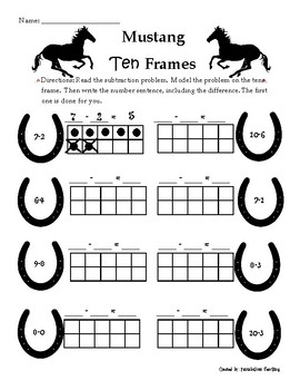 Mustang Ten Frames