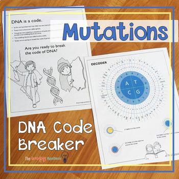 Mutations Worksheet Teaching Resources Teachers Pay Teachers