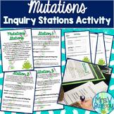Mutations Inquiry Stations Activity