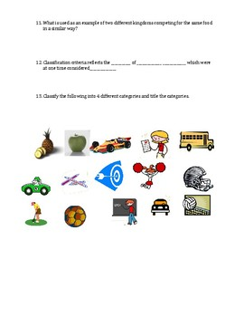 Mutations Result in Adaptations: Group Activity Worksheet