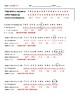 Mutations Review Worksheet