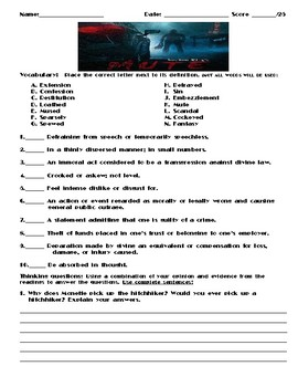 Mute by Stephen King Assignment