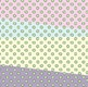 Muted Color Polka Dot Overlay - Create Your Own Backgrounds