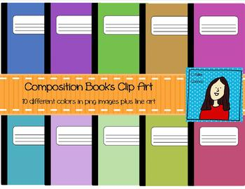 Muted Composition Notebooks